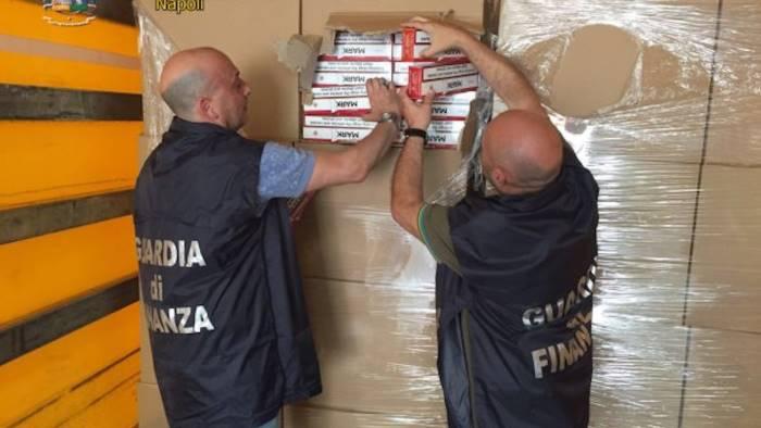 Sigarette di contrabbando: 9 persone agli arresti domiciliari