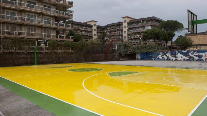 il campo playground manuela gallicola trasformato