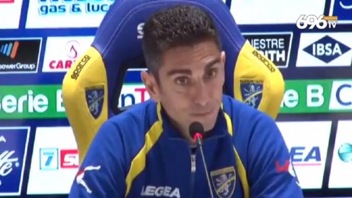frosinone avellino 2 0 la conferenza post gara di longo