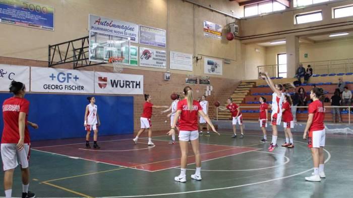 basket ruggi sconfitta interna contro givova ladies scafati