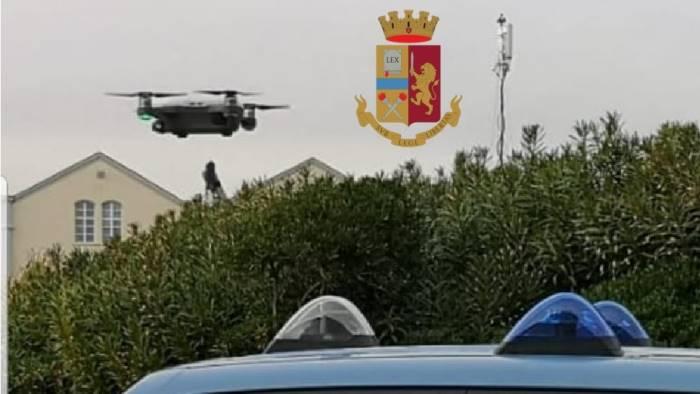 attraversamento binari e recinzioni multe grazie ad un drone