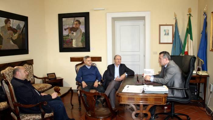il presidente della provincia incontra rappresentanti cisl