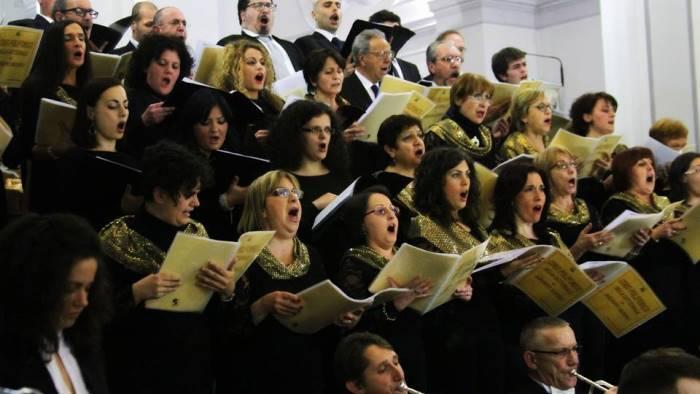 musica e castelli a solofra con il coro polifonico di ariano