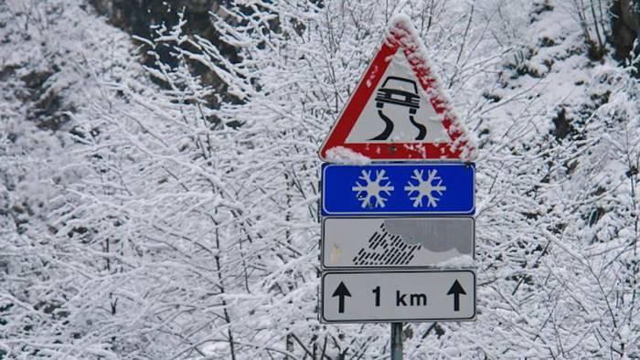 la provincia piano neve ha funzionato su tutto il territorio
