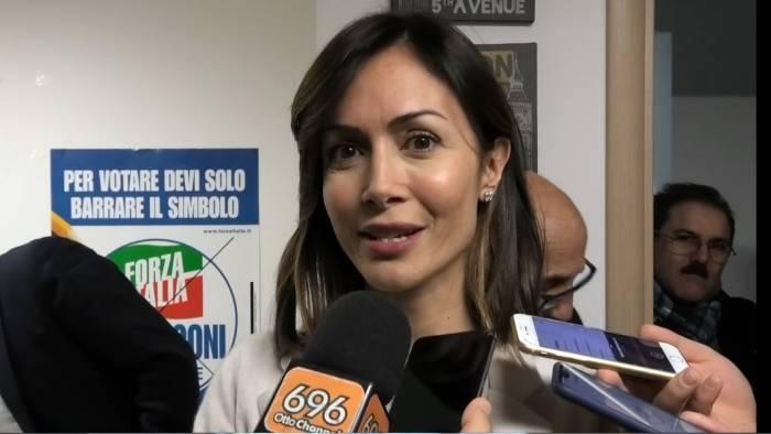 i vertici di forza italia a caserta per apertura nuova sede