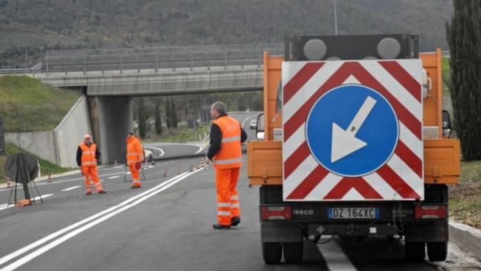 cilentana dopo le feste riprendono i lavori sulla strada