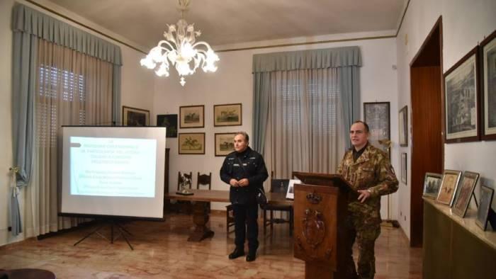esercito italiano e protezione civile stamane l incontro