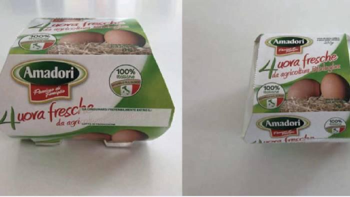 uova a rischio contaminazione ritirati lotti conad e amadori