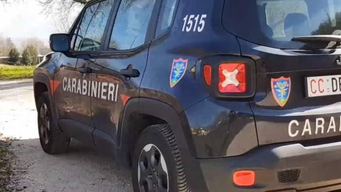 carabinieri forestali in azione tra l alta irpinia e l ufita