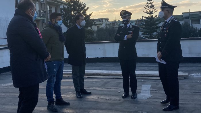 nocera superiore nuova caserma dei carabinieri