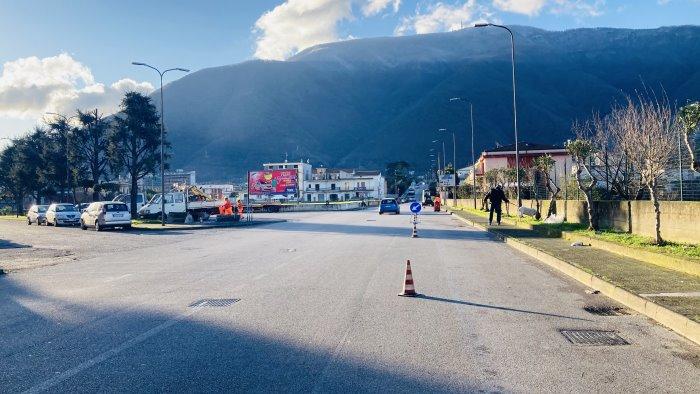 nocera lavori per la sicurezza delle strade 5 i cantieri