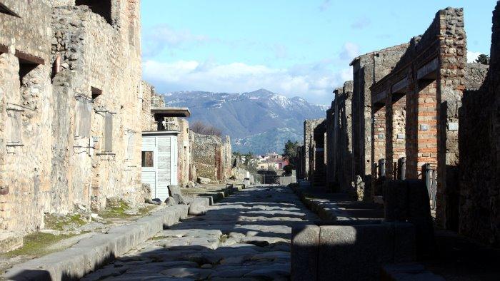 pompei riapre l antiquarium con la storia degli scavi