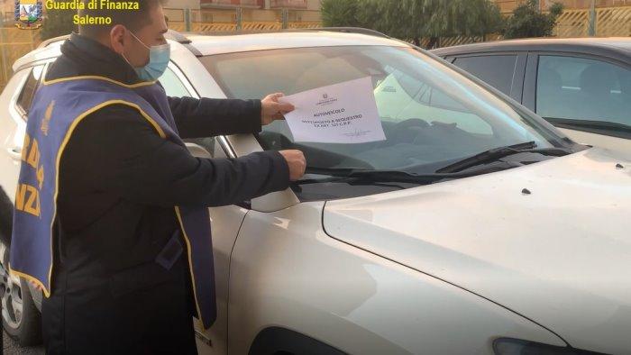 truffa sulle auto dall estero sequestri per mezzo milione