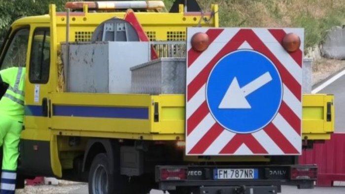 campania anas chiuso per lavori viadotto zingariello