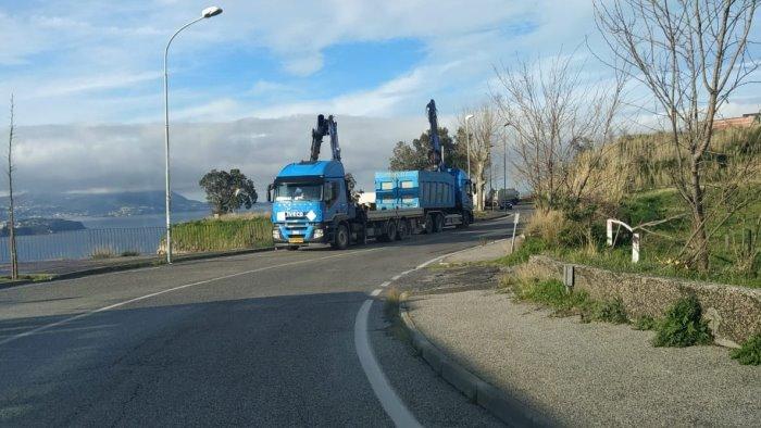 ordinata la rimozione dei rifiuti sulla panoramica