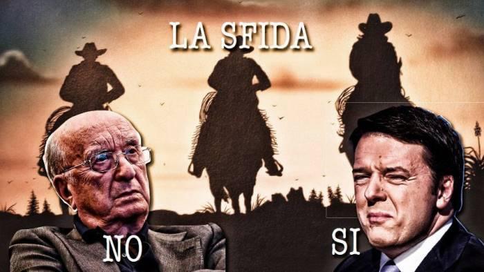 [ 28 ottobre 2016 ] Confronto Renzi-De Mita a La7 (Video) Politica