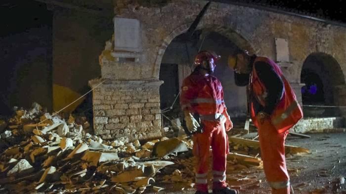 Terremoto 30 ottobre: crolli a Muccia, Tolentino, Ussita, Arquata del Tronto