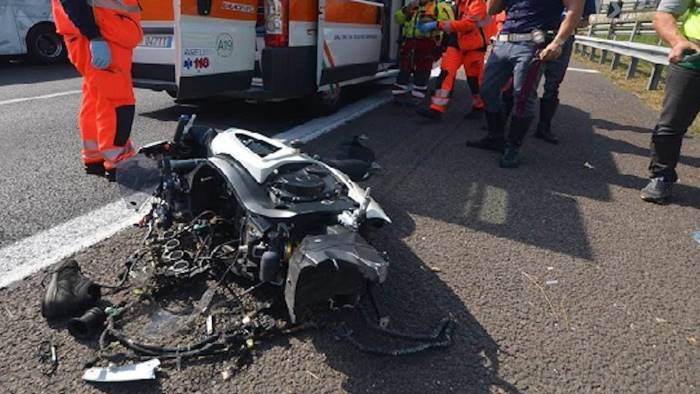 incidente mortale in campania muore 27enne