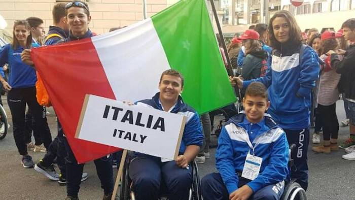 europei paralimpici in gara due giovani napoletani
