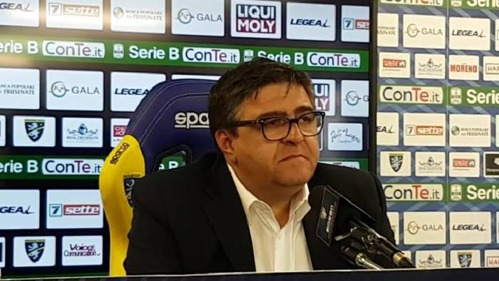Salernitana-Frosinone 1-1, il tabellino: Crivello risponde a Schiavi
