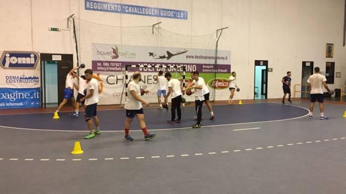 handball lanzara debutto stagionale alle porte