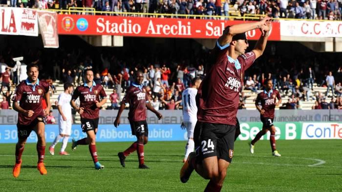 Sorprendente Salernitana: batte la capolista Empoli e vola in classifica