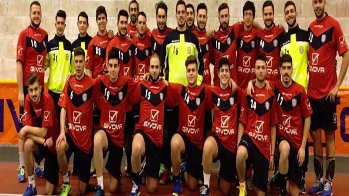 handball lanzara 2012 debutto contro la pallamano fasano