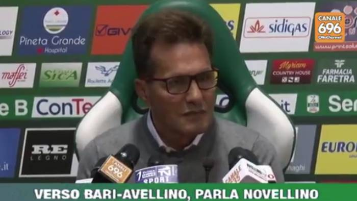 Bari-Avellino, le probabili formazioni formazioni: due novità nell'undici di Walter Novellino