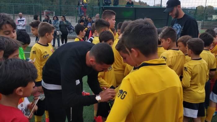 scuola calcio buonaiuto e montipo incontrato i giallorossini