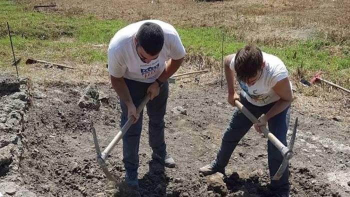 paestum trovato ordigno bellico durante gli scavi