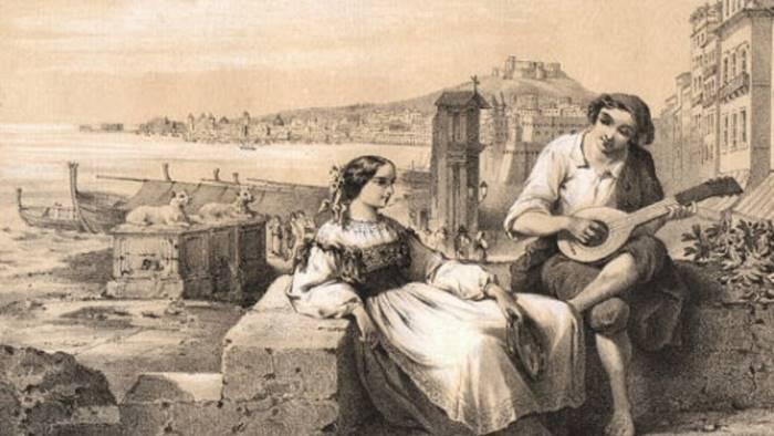 si presenta il festival della canzone napoletana