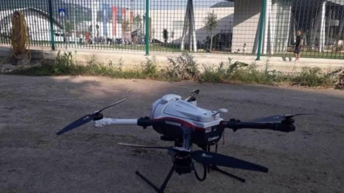 discarica abusiva scoperta con un drone