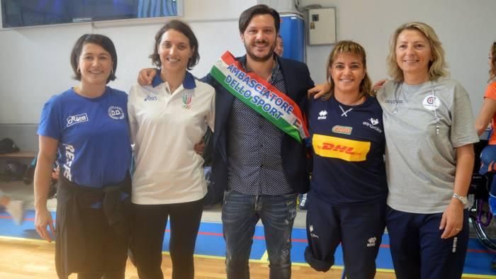 centro ester in festa con le regine dello sport paralimpico