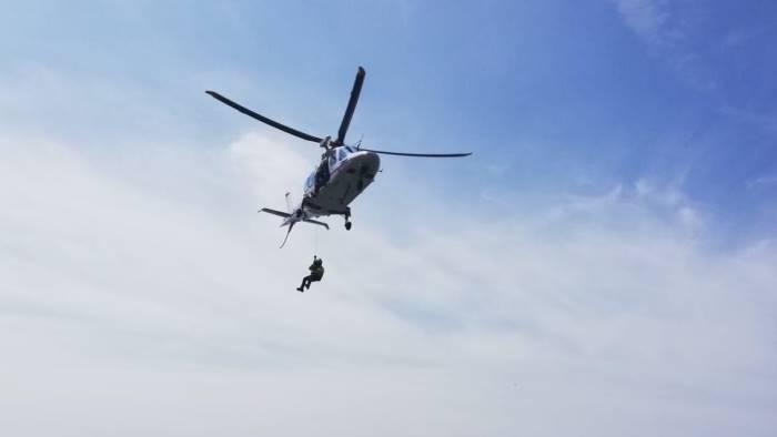 doppio intervento per il soccorso alpino e speleologico