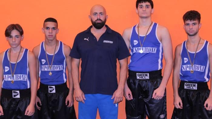 napoliboxe in tre ai campionati italiani