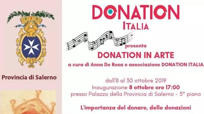donation in arte l evento dedicato all importanza del dono