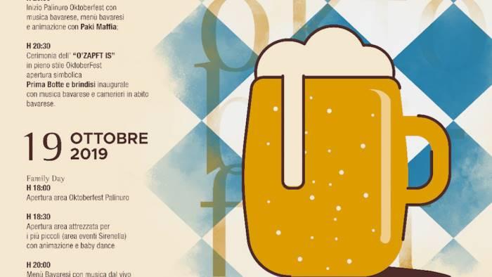 un week end a tutta birra l oktoberfest arriva a palinuro