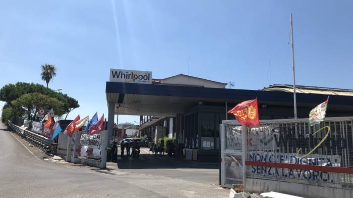 la whirlpool pronta a incontrare il governo