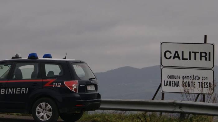 alimenti sospetti sequestrati a calitri dai carabinieri