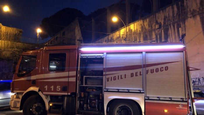 boscoreale a fuoco container occupati un morto