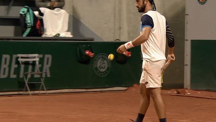 tennis giustino ko al challenger di alicante