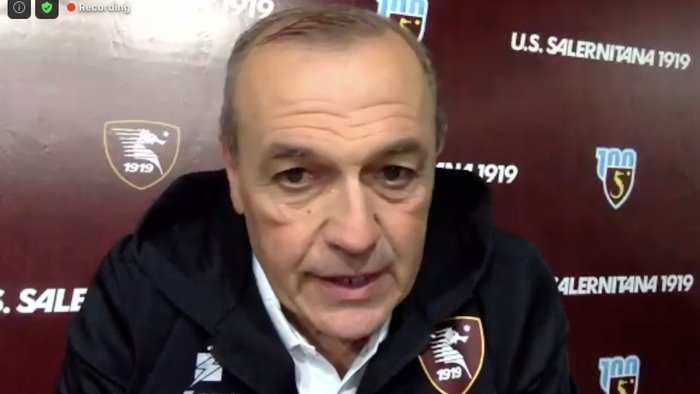 salernitana pisa castori mi aspetto progressi importanti