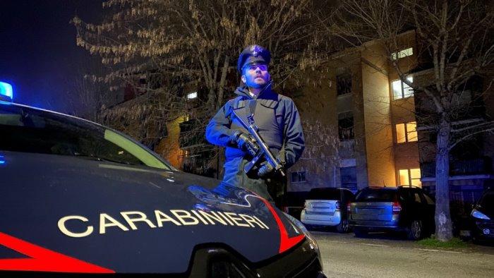i carabinieri intensificano i controlli covid in provincia