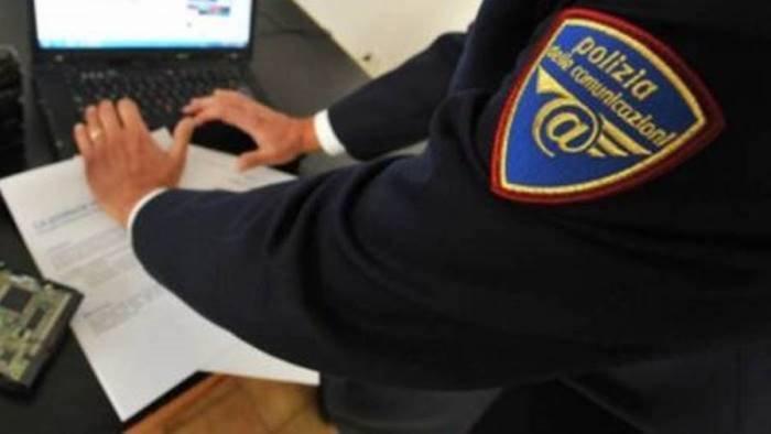 scambio di materiale pedopornografico in carcere 48enne