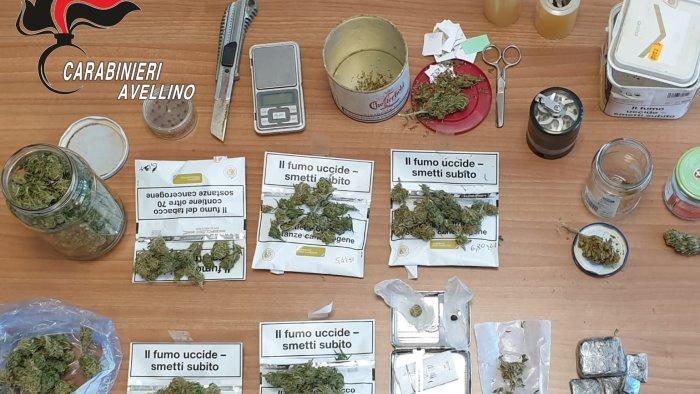 droga nascosta tra piatti e bicchieri arrestato 41enne