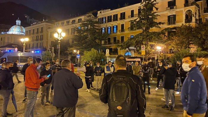 protesta pacifica dei commercianti nuovo decreto in arrivo