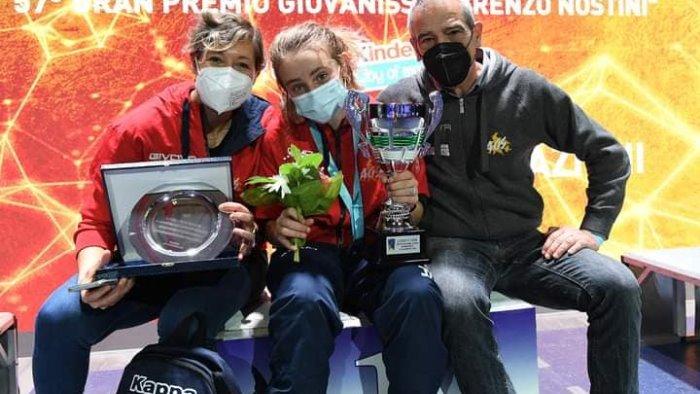 accademia olimpica furno la de curtis e campionessa d italia