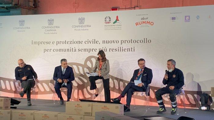 territori resilienti confindustria e protezione civile firmano l accordo