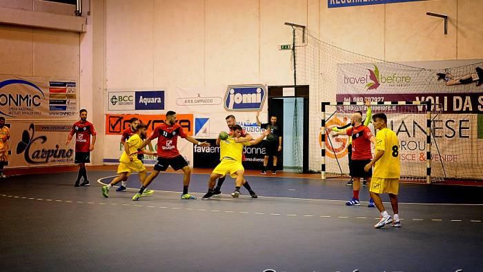 handball lanzara impegno nel derby contro il benevento