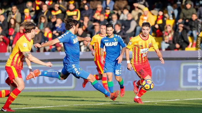 Serie A: Benevento-Sassuolo 1-2, le pagelle